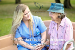 Angel Connection Nursing Services offers genuine care to each client.